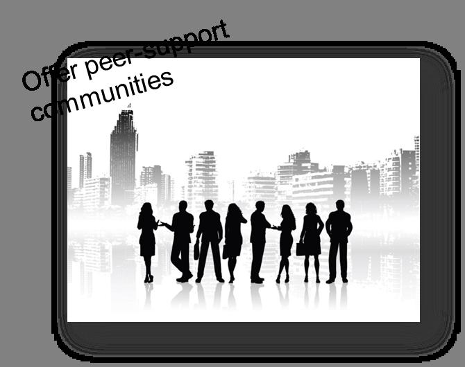 offerpeersupportcommunities